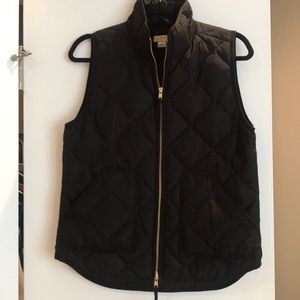 JCREW NEVER WORN black vest